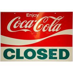 Coca-Cola/ Window Sign  (102140)