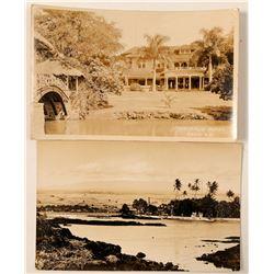 Hawaii Postcards (2)  (91202)