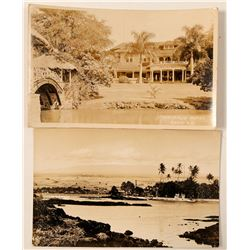 Hawaii Postcards (2)  (91202)