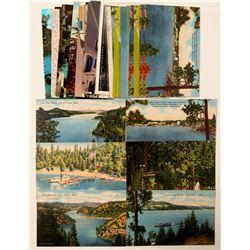 Couer d'Alene, ID Postcards  (90744)