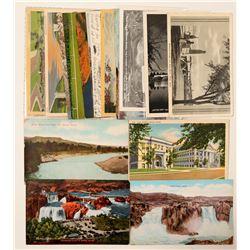 Twin Falls, Idaho Falls, Boise Postcards  (90753)