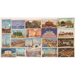 Chicago Worlds Fair Postcards  (103340)