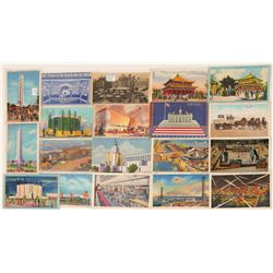 Chicago Worlds Fair Postcards  (103340)