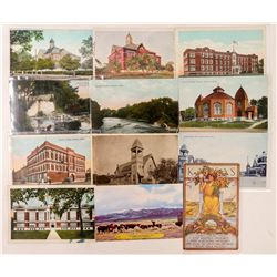 Emporia/Newtown, Kansas Postcards  (102705)