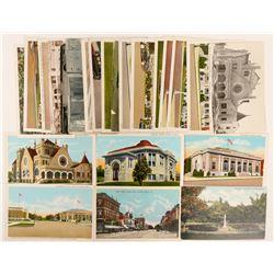 Parsons City, Kansas Postcards  (102706)