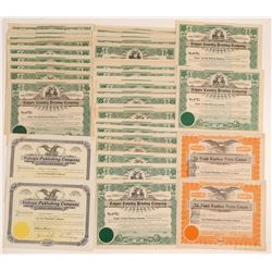 Michigan Printing Stock Certificates  (102232)