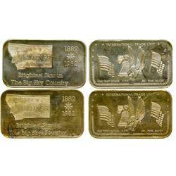 Centennial Silver Bars  (100537)
