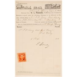 Perkins Forwarding Receipt to Fort Ruby  (102264)