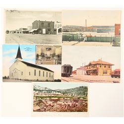 Five Reno/Sparks/Truckee Post Cards  (99745)