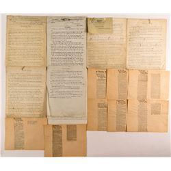 Higgins, C.C. Original Manuscripts about Nevada Desert Life  (49968)