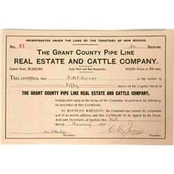 Grant County Pipe Line, Real Estate and Cattle Company  (90532)