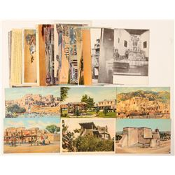 Taos/Santa Fe, NM Postcards  (90740)