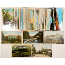 North Carolina Scenery Postcards  (102381)