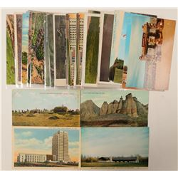 Badlands Etc, ND Postcards  (102648)