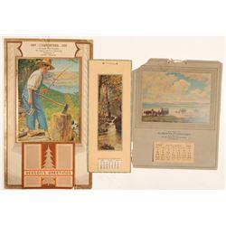Vintage Calendars (3)  (102750)