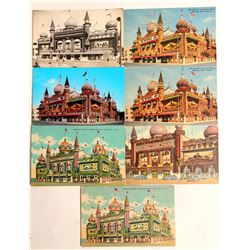 Mitchell Corn Palace, SD Postcards  (102684)