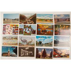 Utah Postcard Collection  (55450)