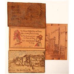 Leather Theme Postcards  (91222)