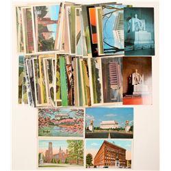 Washington, DC postcards  (102322)