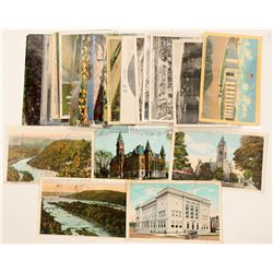 West Virginia Postcards  (102332)