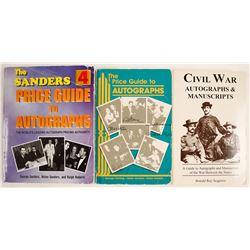 Autographs & Manuscripts, Price Guides  (63406)