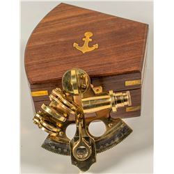 Captain's Brass Sextant  (43828)