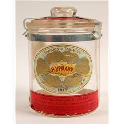 H Upmann Vintage  Glass Humidor  (91311)