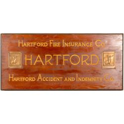 Advertising Sign / Hartford Fire Insurance Co. ( 91521).