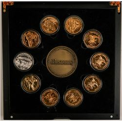 History Channel Civil War Commemorative Medal Set  (91309)