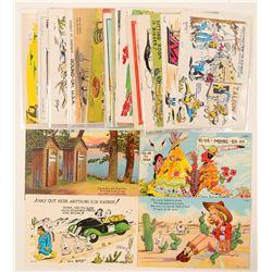 Humorous Western Postcards  (102358)