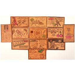 Leather Postcards  (91226)