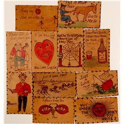 Leather Postcards  (91238)