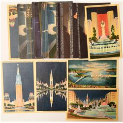 California Expos Night View Postcards  (103334)