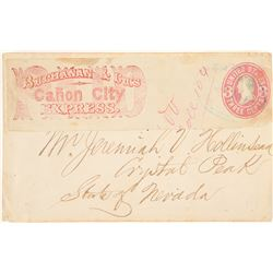 Buchanan & Bros, Canon City Express Post up on Crystal Peak, Nevada cover  (99003)
