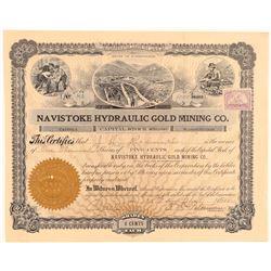 Navistoke Hydraulic Gold Mining Company Stock  (101463)