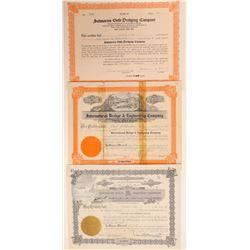 Three Alaska Dredging Stocks  (101444)