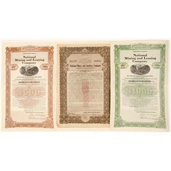 National Mines and Smelters and Mining and Leasing Bonds  (91690)