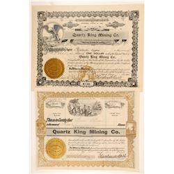 Quartz King Mining Company Stocks  (91693)