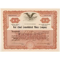 Red Cloud Consolidated Mines Company Stock  (91691)