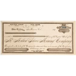 McMillen Silver Mining Company Stock  (81634)