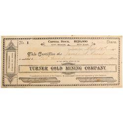 Turner Gold Mining Company  (81845)