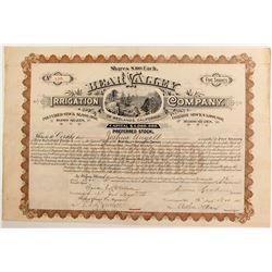 Bear Valley Irrigation Company stock  (81863)