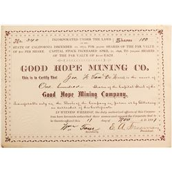Good Hope Mining Co stock  (81854)