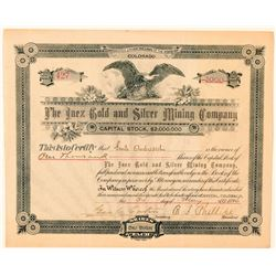 Inez Gold & Silver Mining Company Stock Certificate  (91611)
