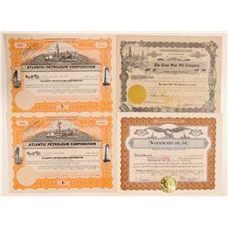 Four Colorado Oil Company Stocks  (103576)
