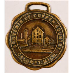 Mining Medallion /  From Copper Country.  (102108)