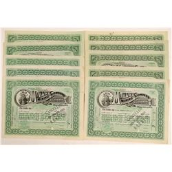 Mohawk Mining Company Stock Certificates (10)  (102224)