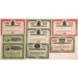 Michigan Mining Stock Certificates  (102205)
