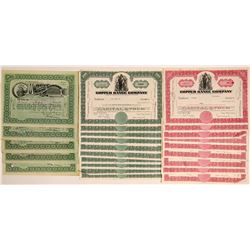 Michigan Mining Stock Collection: Copper Range and Mohawk  (102219)