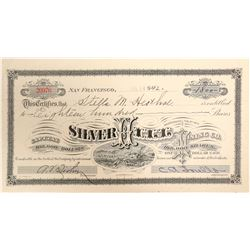 Silver Hill Mining Company Stock Certificate  (102198)